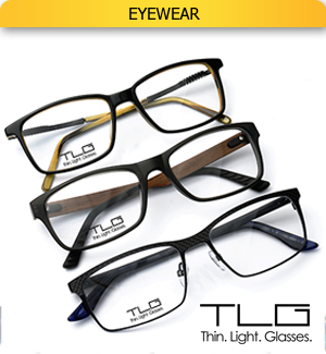 Image of eyewear linking to 'Eyewear' page.